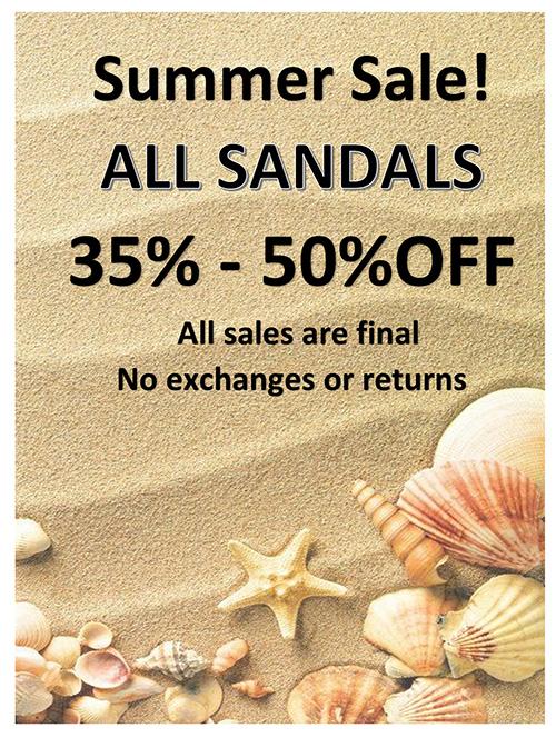 Sandal Sale 2017