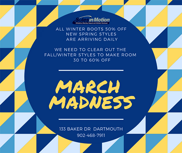 March Madmess Sale