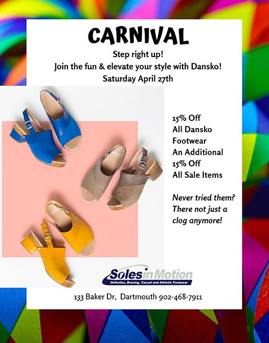 Carnival Sale Dansko