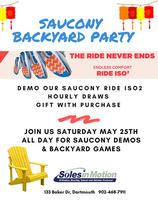 Saucony Backyard Party