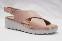 Clarks Jillian Jewel Blush Leather