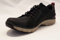 Clarks Wave Go Black Nubuck