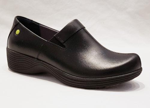 Dansko Coral Black Leather Women's