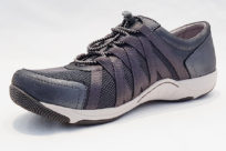 Dansko Honor Charcoal Metallic Womens