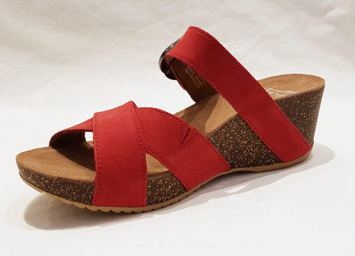 Dansko Susie Women's Sandal Red