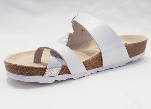Mephisto Nalia White Womens Sandal