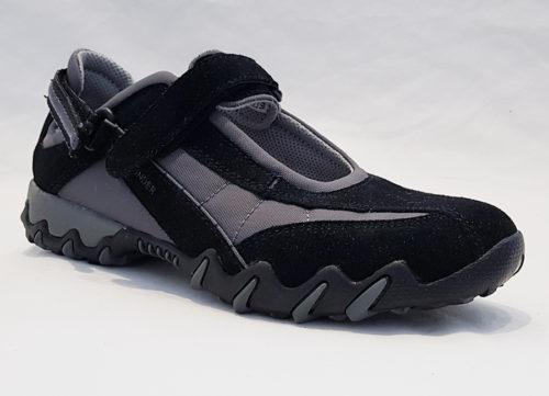 Mephisto Niro Black Womens Sneaker