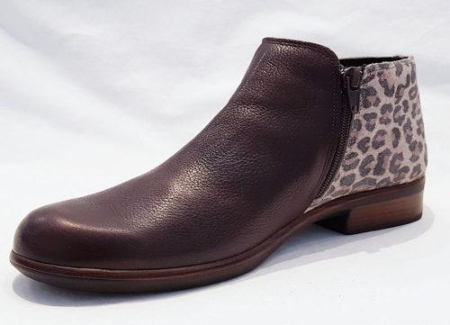 Naot Helm Soft Brown Cheetah