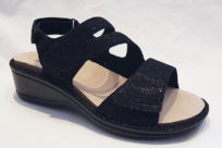 Aravon Cambridge 3 Strap Black Shimmer