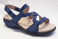 Aravon PC S Strap Sandal Blue Multi