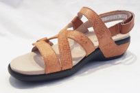 Aravon PC S Strap Sandal Tan
