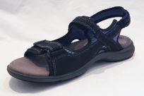 Aravon Rev Sandal 3 Strap Black