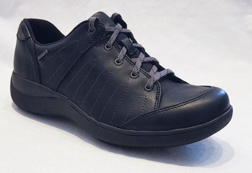 Aravon Revsavor Black Leather