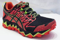 Asics Gel Fujitrabuco 7 Red Snapper Black