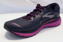 Brooks Adrenaline GTS 20 Ebony Black Hollyhock