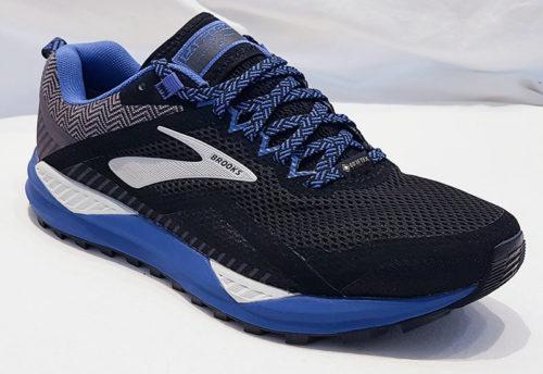 Brooks Cascadia 14 GTX Black Grey Blue