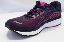 Brooks Ghost 12 Black Hollyhock Pink