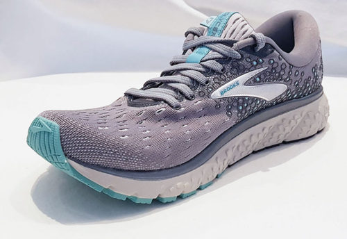 Brooks Glycerin 17 Grey Aqua Ebony