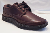 Drew Mens Toledo II Brandy Leather