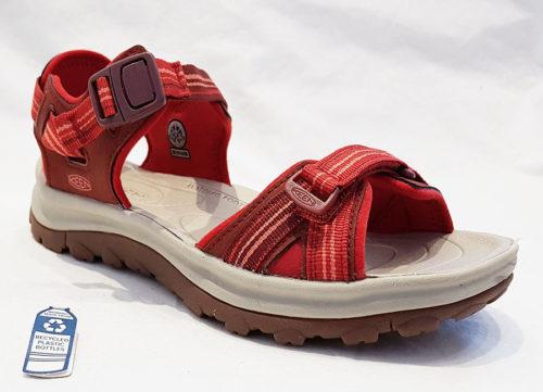 Keen Terradora Open Toe Dark Red Coral